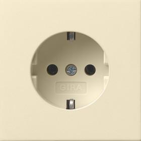 Розетка Gira F100 Кремовый 188111 IP20