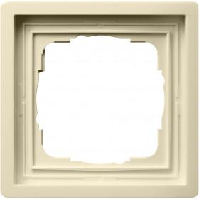 Рамка 1-ая Gira F100 Кремовый 211111 IP20
