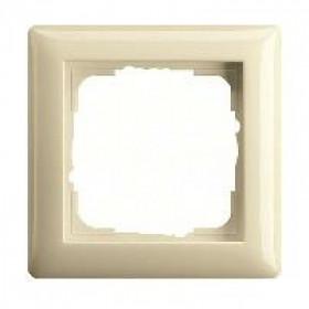 Рамка 1-ая Gira Standard 55 Кремовый глянцевый 21101 IP20