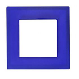 Рамка 1-ая Fontini F-37 Стекло синее 37801072 IP20