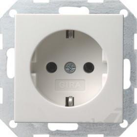 Розетка Gira System 55 Белый 18827 IP20