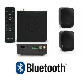 """Комплект радио FM+Bluetooth+2 накладные колонки 3""""+пульт ART3.1BT+UNI30 B, арт.PACKART31/UNI30"""