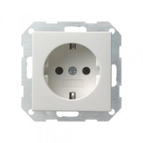 Розетка Gira System 55 Белый Глянцевый 18803 IP20