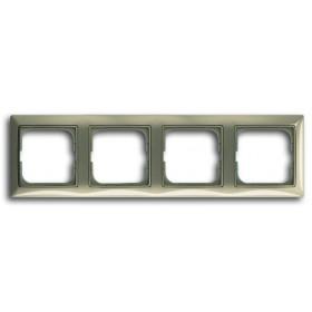 Рамка 4-ая ABB Basic 55 Maison-Бежевый 1725-0-1529 IP20