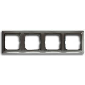 Рамка 4-ая ABB Basic 55 Entree-Серый 1725-0-1534 IP20