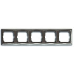 Рамка 5-ая ABB Basic 55 Entree-Серый 1725-0-1535 IP20