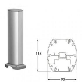 ISM20217 Мини-колонна 2-сторонняя 0,43 м на 12 мех-мов 45*45мм с отверстием(OptiLine 45), Алюминий