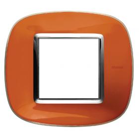 Рамка 1-ая Bticino Axolute Апельсиновая карамель HB4802DR IP20