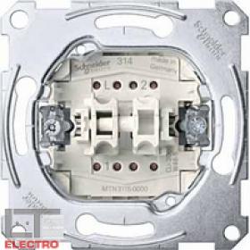MTN3115-0000 Механизм выключателя 2-клавишного 10А
