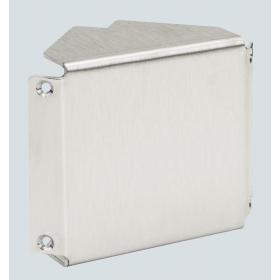 TKA102307-8 Угол внешний не регулируемый для кабель-канала 70*50мм, Нержавеющая сталь