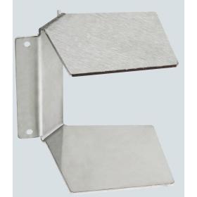 TKA103307-8 Угол внутренний не регулируемый для кабель-канала 70*50мм, Нержавеющая сталь