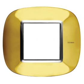 Рамка 1-ая Bticino Axolute Золото HB4802OR IP20
