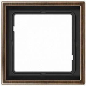 Рамка 1-ая Jung LS Design Латунь Antique MED2981AT IP20
