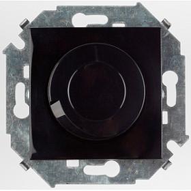 Диммер Simon 15 Черный 1591790-032 поворотно-нажимной