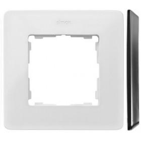 8200610-230 Рамка на 1-ая Simon 82 Detail Original Белый-Основание Основание Алюминий