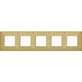 FD01414OB Рамка 5-я(GRANADA), Bright Gold