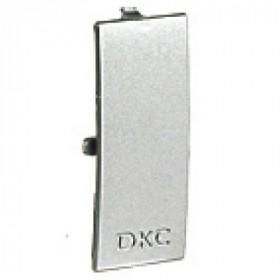 09504G Накладка на стык крышки 60 мм In-Liner Aero Алюминий ДКС(DKC), Серый металлик