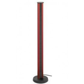 934.30.018 Мини-колонная Vertical, высота 1200мм, 4 эл.розетки + 2хRJ45+выключатель, Красный