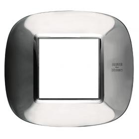 Рамка 1-ая Bticino Axolute Ледяная сталь Alessi HB4802AXL IP20