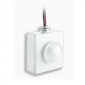 005610 Датчик движения ИК HBS 300 EU потолочный для складов 1200Вт, IP 20, Белый