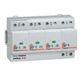 03023 Legrand Устройстро защиты от импульсных перенапряжений(УЗИП) Тип 1, 4Р Iimp 25кА, 350В