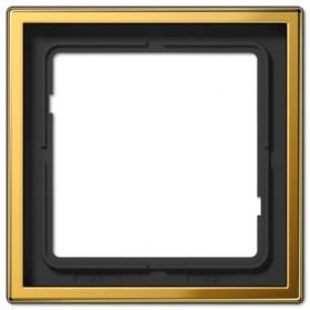 Рамка 1-ая Jung LS990 Блеск Золота GO2981 IP20