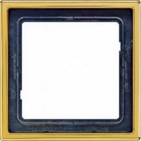 Рамка 1-ая Jung LS990 Золото LS981GGO IP20