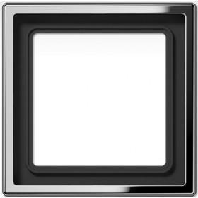 Рамка 1-ая Jung LS990 Нержавеющая сталь ES2981 IP20