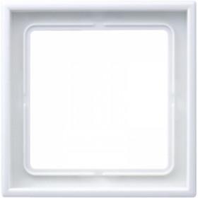Рамка 1-ая Jung LS990 Белый LS981WW IP20