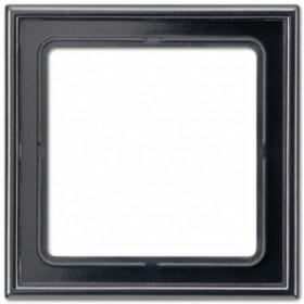 Рамка 1-ая Jung LS990 Черный LS981SW IP20