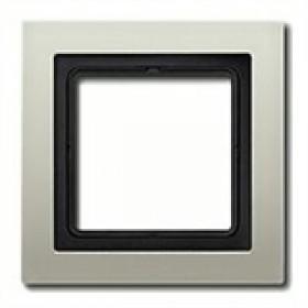 Рамка 1-ая Jung LS Design Нержавеющая сталь ESD2981 IP20