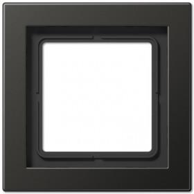 Рамка 1-ая Jung LS Design Антрацит/Лакированный алюминий ALD2981AN IP20