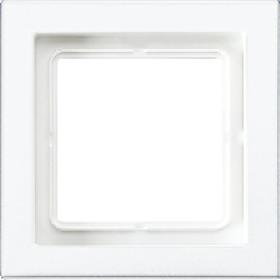Рамка 1-ая Jung LS Design Белый LSD981BFWW IP20