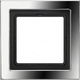 Рамка 1-ая Jung LS Design Блестящий хром GCRD2981 IP20