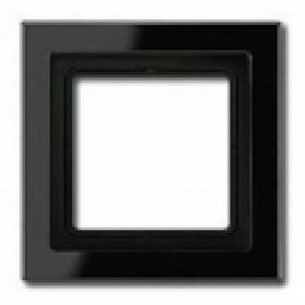 Рамка 1-ая Jung LS Design Черный LSD981SW IP20