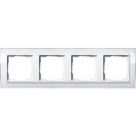 0214723 Рамка 4-ая(Event Clear), Белый/Белый