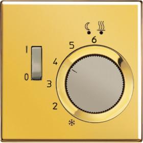 Термостат Jung LS 990 Золото FTRLS231GGO IP20 теплого пола 10А