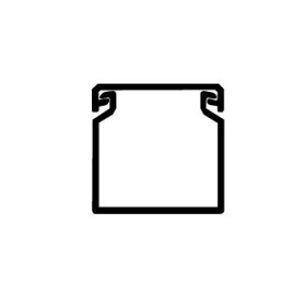 01134RL Короб перфорированный RL6 40х40, ширина 40 мм, высота 40 мм, Серый