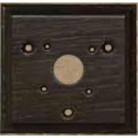 Основание для рамки 1-ое Fede Surface Темный Венге FD01521WE IP20
