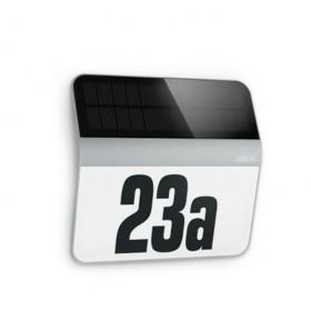 007157 Светильник светодиодный XSolar LH-N с сумеречным датчиком, IP 44, СЕРЕБРИСТЫЙ