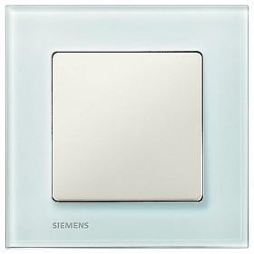 Рамка 1-ая Siemens Delta Miro Стекло салатовое 5TG1201 IP20