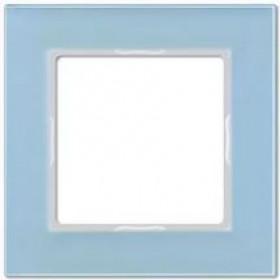 Рамка 1-ая Jung А сreation Серо-Голубой AC581GLBLGR IP20