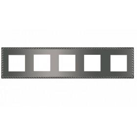 FD01215GR Рамка 5-ая(TOLEDO), Graphite