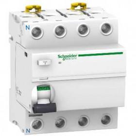 A9R15480 Выключатель диф.тока(УЗО) iID 4-полюса 80А 300мА-S тип AC