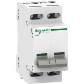 A9S60220 Выключатель нагрузки (рубильник) модульный(ACTI 9 iSW) 2-полюса 20A