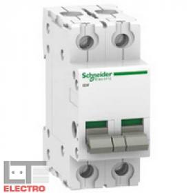 A9S60291 Выключатель нагрузки (рубильник) модульный(ACTI 9 iSW) 2-полюса 100A