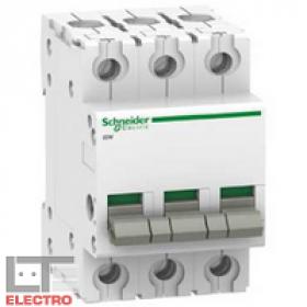 A9S60391 Выключатель нагрузки (рубильник) модульный(ACTI 9 iSW) 3-полюса 100A