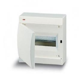 122380008 Бокс навесной 8 модулей(Unibox) с белой дверью IP41 с клеммным блоком
