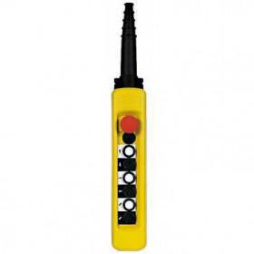 XACA67141 Пульт управления подвесной для 1 скоростного двигателя 6 кнопок 1НО+аварийная  IP65