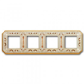 Рамка 4-ая Fede Barselona Bright Gold FD01354OBCL IP20